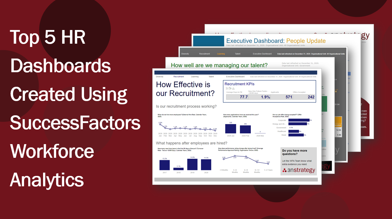 Top 5 HR Dashboards Created Using SuccessFactors Workforce Analytics
