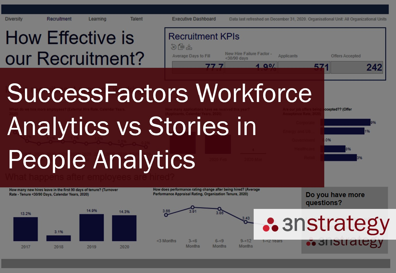 SuccessFactors Workforce Analytics Stories in People Analytics